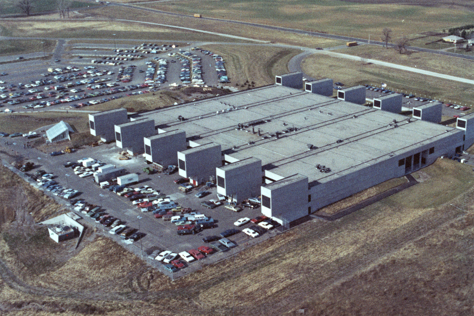 DCTC Aerial Campus View