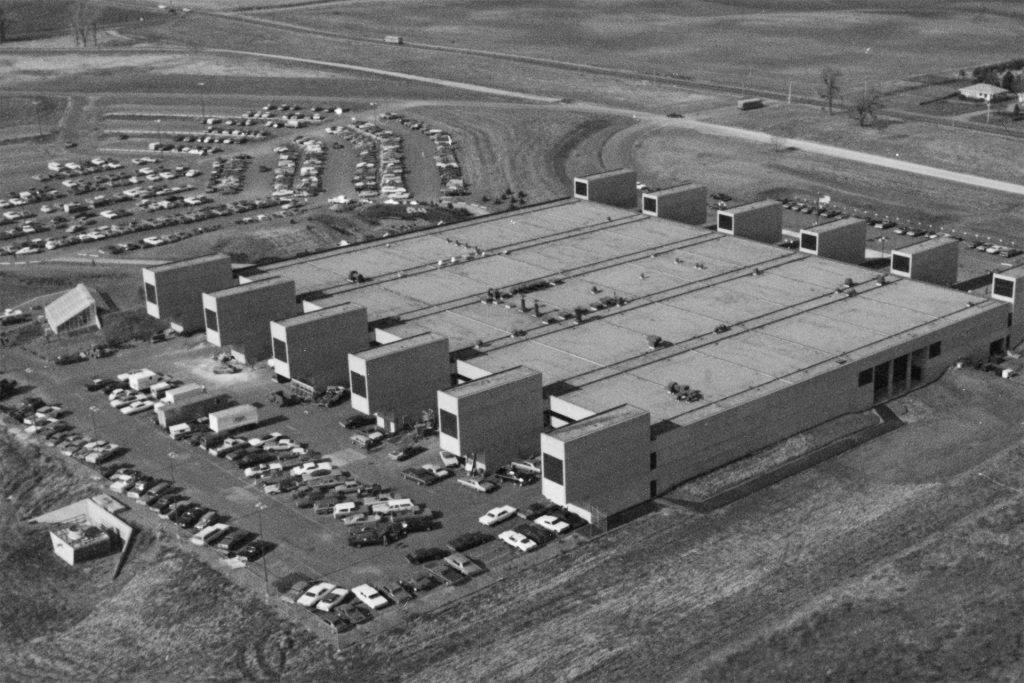 August 26, 1971: New Campus Construction