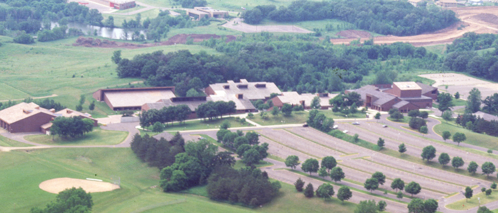 Inver Hills Aerial View