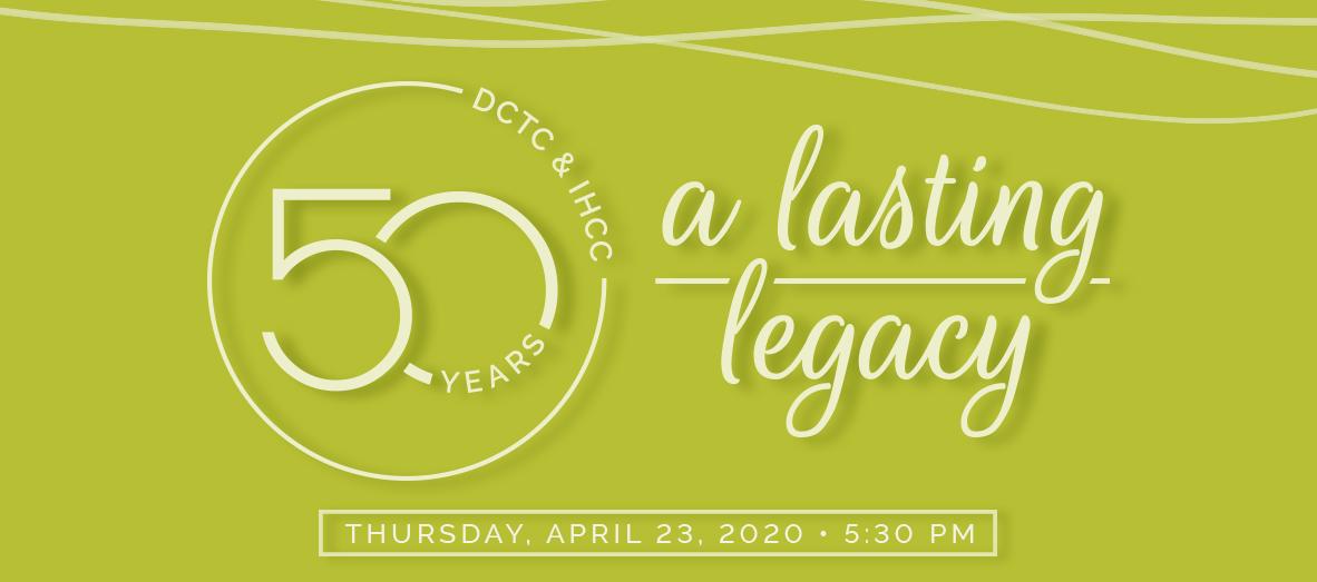 50th Gala Logo - A Lasting Legacy